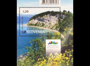 Slowenien Slovenia 2016 Block 92 Naturpark Strunjan Küstenlandschaft Naturschutz