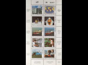 Venezuela 1987 Michel Nr. 2452-61 Klbg. Venezolanische Schifffahrtskompanie