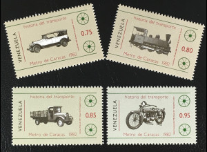 Briefmarken Lincoln 1923 Lokomotive 129 1889 Willys Lastwagen Cleveland-Motorrad