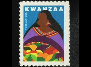 USA Amerika 2016 Michel Nr. 5335 Schwarzamerikaniasches Kwanzaa-Fest Feier
