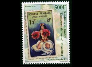 Polynesien französisch 2014 Michel Nr. 1277 Folklore Tahiti