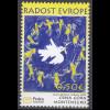 Montenegro 2007 Michel Nr. 150 Europäisches Kindertreffen Freude Europas