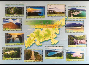 Hongkong 2016 Block 312 Wanderwege Lantau Trail Natur Landschaften Flüsse