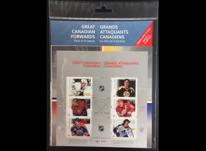 Kanada Canada 2016 Block 240 Kanadische Eishockeyspieler Eissport