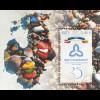Estland EESTI 2016 Block 42 25 Jahre Baltische Versammlung Paralellausgabe