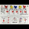 Frankreich France 2016 Block 352 Rotes Kreuz Zeichnung Charles de Castelbajac