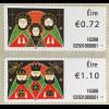 Irland 2016 Nr. 81 + 82 Weihnachten Heilige drei Könige Maria Josef