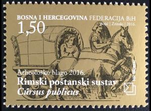 Bosnien Herzegowina Kroatische Post Mostar 2016 Nr. 430 Archäologische Schätze