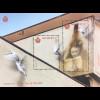 San Marino 2016 Block 78 Street Art Eron Soul of the Wall Friedenstaube