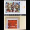 Slowenien Slovenia 2016 Michel Nr. 1221-22 Weihnachten Sternsinger Segensbitte