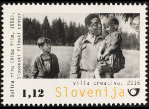 Slowenien Slovenia 2016 Michel Nr. 1233 Filmkunst Goldene Palme Tal des Friedens