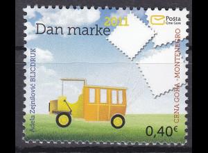 Montenegro 2011, Michel Nr. 286 **, Tag der Briefmarke