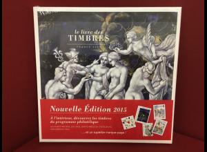 Frankreich Briefmarken Jahrbuch 2015 originalvertpackt