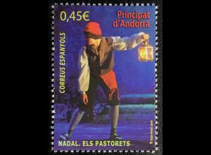 Andorra spanisch 2016 Nr. 445 Weihnachten Nadal Pastorets Kirchenfest