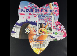 Polynesien franz. Polynesie Francaise 2016 Block 45 Pflaumenblüte Blütenform
