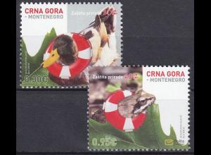 Montenegro 2012, Michel Nr. 300-01 **, Umweltschutz