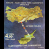 Zypern türkisch Cyprus Turkish 2016 Block 33 Wasserversorgung Landkarte