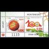 Montenegro 2013, Block 13 **, Basketball-EM; 100 Jahre Fußballverein Lovćen