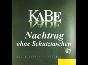 Deutschland KABE Nachtrag 2014 ohne Schutztaschen