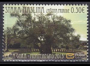 Montenegro 2013, Michel Nr. 332 **, Naturschutz
