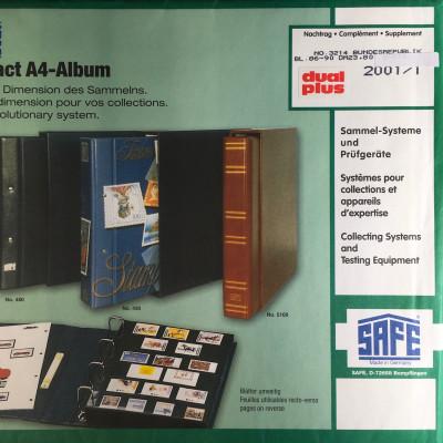 Safe dual plus Nachtrag Bundesrepublik Deutschland 2001/1 1.Teil