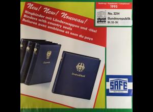 Safe dual plus Nachtrag Bundesrepublik Deutschland Jahrgang 1995 komplett