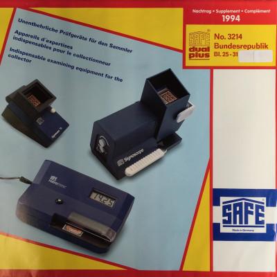 Safe dual plus Nachtrag Bundesrepublik Deutschland Jahrgang 1994 komplett