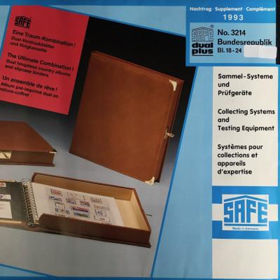 Safe dual plus Nachtrag Bundesrepublik Deutschland Jahrgang 1993 komplett