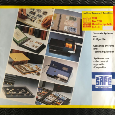 Safe dual plus Nachtrag Bundesrepublik Deutschland Jahrgang 1991 komplett
