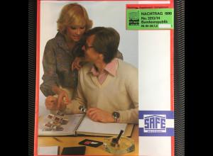 Safe dual plus Nachtrag Bundesrepublik Deutschland Jahrgang 1990 komplett