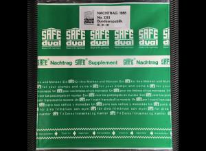 Safe dual plus Nachtrag Bundesrepublik Deutschland Jahrgang 1988 komplett