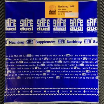 Safe dual plus Nachtrag Bundesrepublik Deutschland Jahrgang 1984 komplett