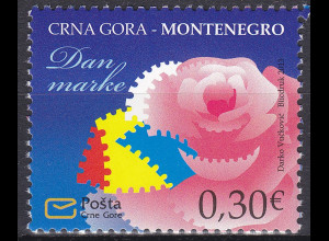 Montenegro 2013, Michel Nr. 342 **, Tag der Briefmarke