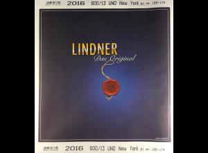 Lindner Nachtrag UNO New York 2016 Blatt 165-174 Vordruck T 600