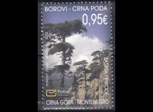 Montenegro 2014, Michel Nr. 353 **, Naturschutz
