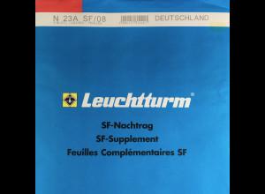 Leuchtturm SF Nachtrag Bundesrepublik Deutschland vom Jahr 2008