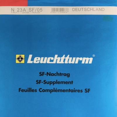Leuchtturm SF Nachtrag Bundesrepublik Deutschland vom Jahr 2005