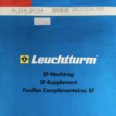 Leuchtturm SF Nachtrag Bundesrepublik Deutschland vom Jahr 2004