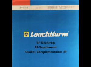 Leuchtturm SF Nachtrag Österreich Kleinbogen vom Jahr 2012
