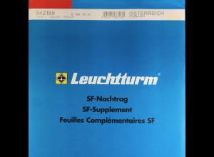 Leuchtturm SF Nachtrag Österreich Kleinbogen vom Jahr 2011