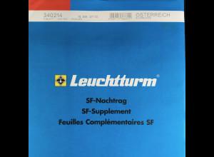 Leuchtturm SF Nachtrag Österreich Kleinbogen vom Jahr 2010