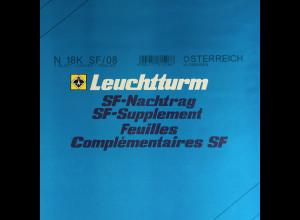 Leuchtturm SF Nachtrag Österreich Kleinbogen vom Jahr 2008