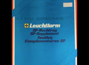 Leuchtturm SF Nachtrag Schweiz Suisse vom Jahr 2003