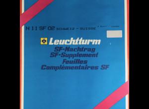 Leuchtturm SF Nachtrag Schweiz Suisse vom Jahr 2002