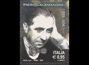 Italien Italy 2016 Michel Nr. 3938 60. Todestag von Piero Calamandrei Professor