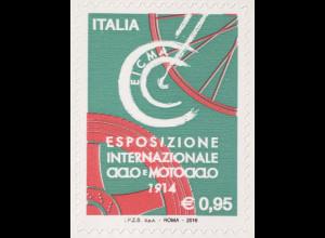 Italien Italy 2016 Michel Nr. 3951 Ausstellung für Fahr- und Motorräder EICMA