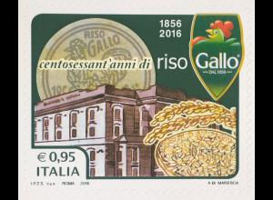 Italien Italy 2016 Michel Nr. 3942 Spitzenprodukte XVI 160 Jahre Riso Gallo