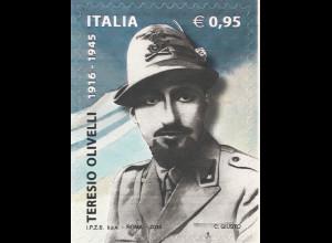 Italien Italy 2016 Michel Nr. 3944 100. Geburtstag von Teresio Olivelli Soldat