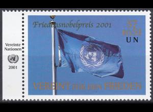 Vereinte Nationen UNO Wien 2001 Nr. 350 Verleihung des Friedensnobelpreises