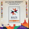 Malta 2017 Block 71 Europa Ratspräsidentschaft Vorsitz Maltas im Europarat